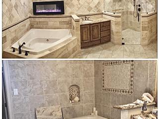 Bathroom Remodeler leon springs before after image