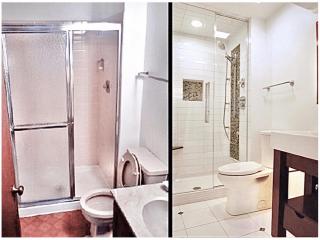Bathroom Remodeling company leon springsbefore after image