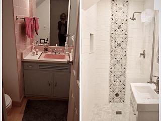 Bathroom Remodeling Timber wood park before after image
