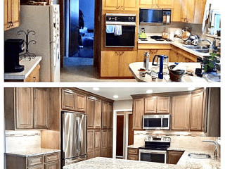 Kitchen Remodeling Contractor before after image
