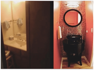 Ballroombaths before after image