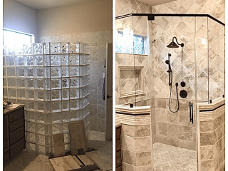 Bathroom remodeling ideas before after image