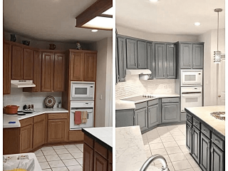 High-Quality San Antonio Kitchen Remodelers before after image