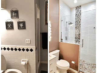 San Antonio Bathroom Remodeling Experts before after image