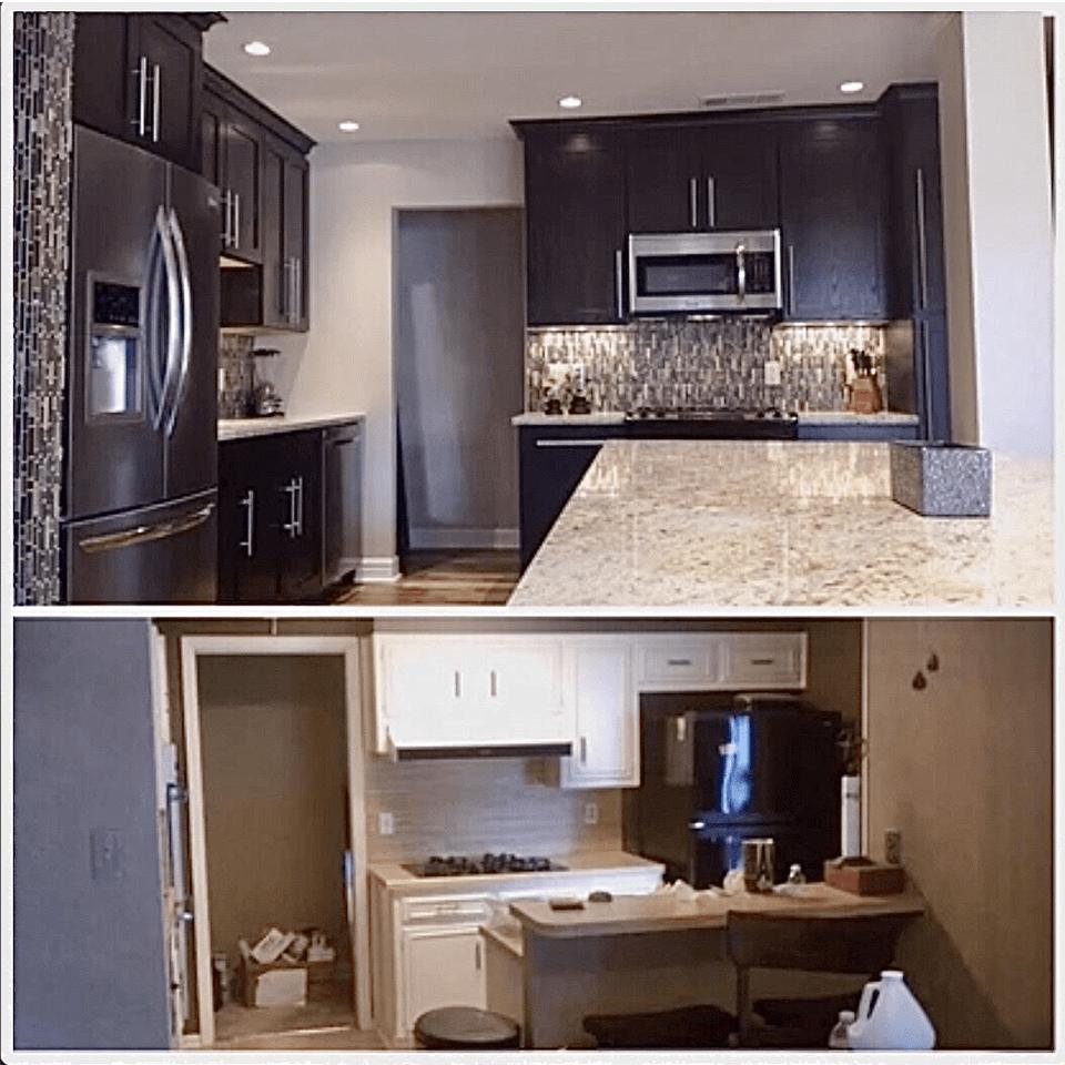 Bathroom renovation service leon springs before after image