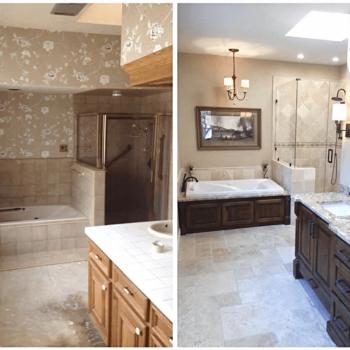 Bathroom Remodeler before after image