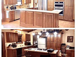 Kitchen Remodeling company before after image