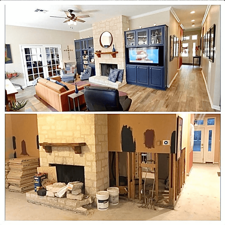 Before & After Home Remodeling